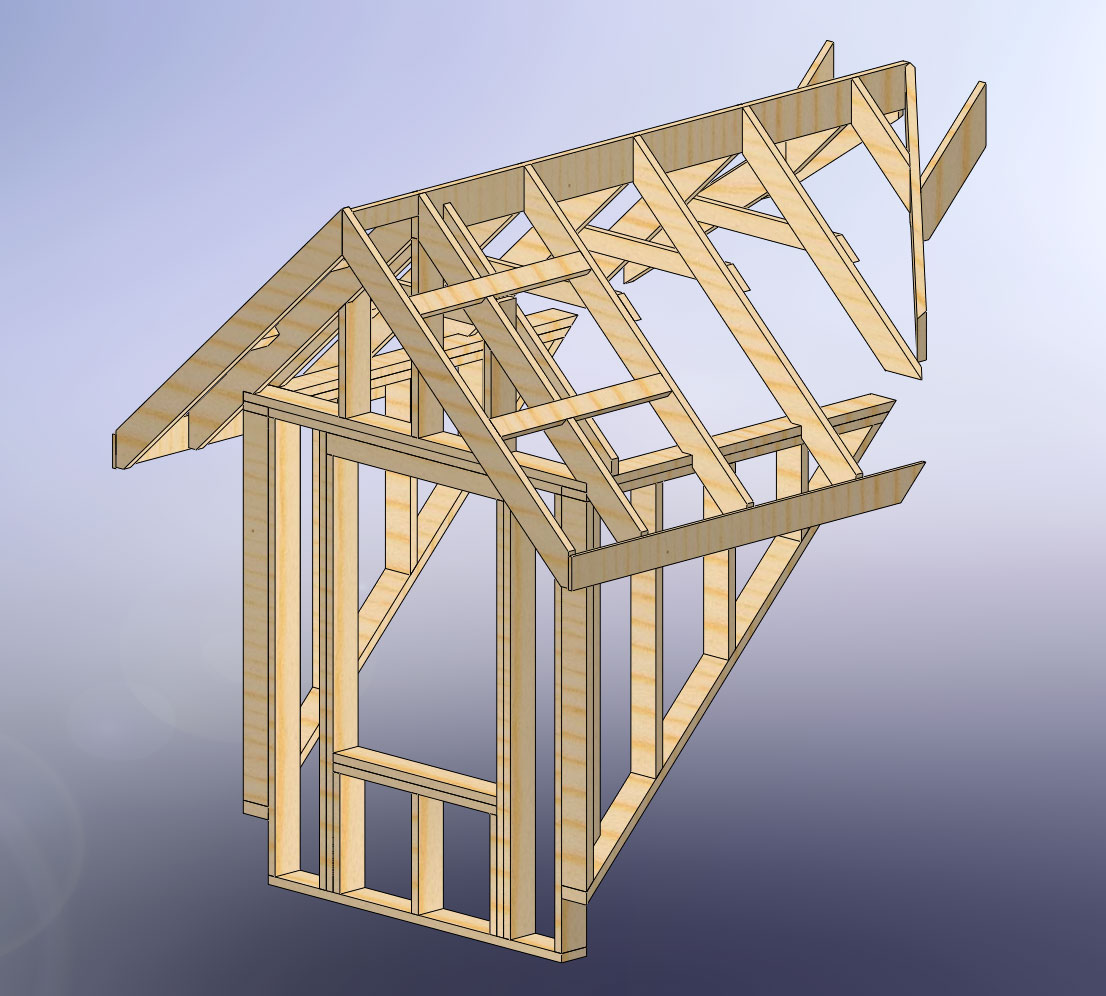 thought to dormers and how to specify them. Below is a dormer design ...