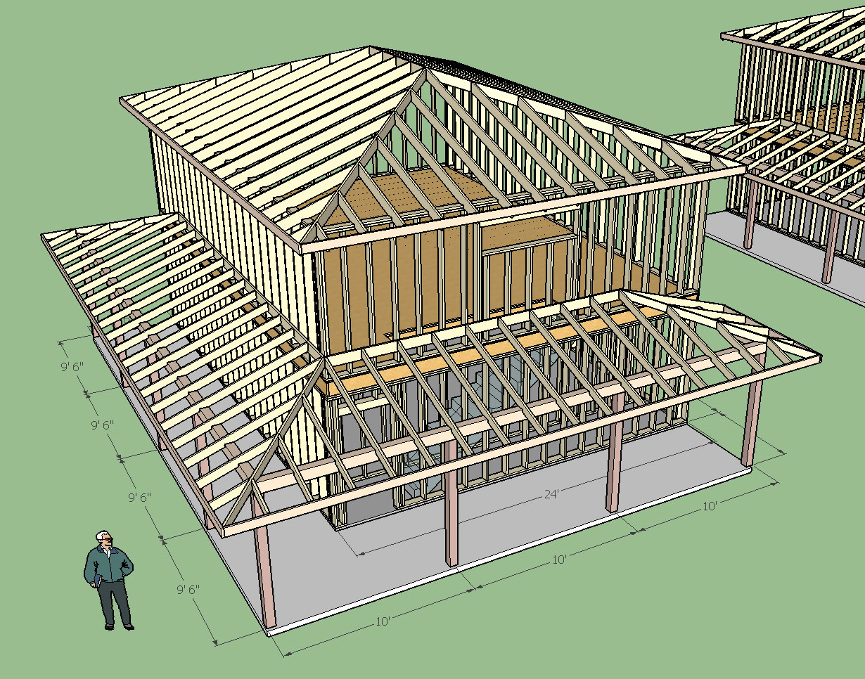 Truss plugin extension extensions sketchup community for Hip roof design software