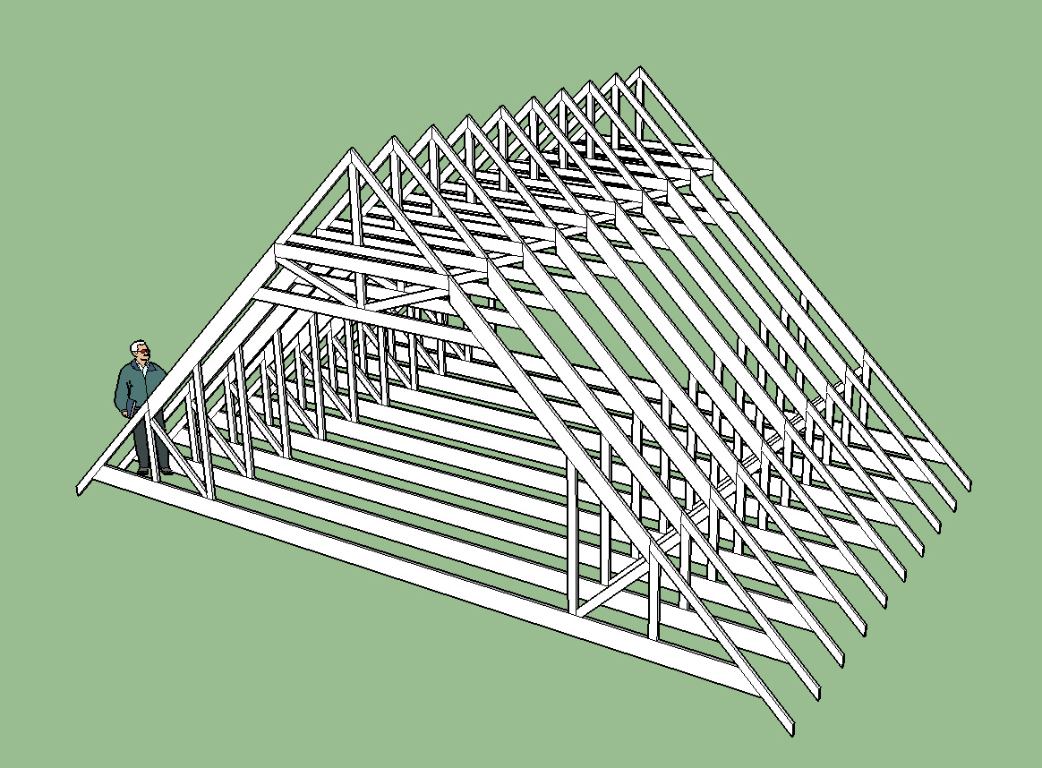 3d Truss Models Sketchucation 1