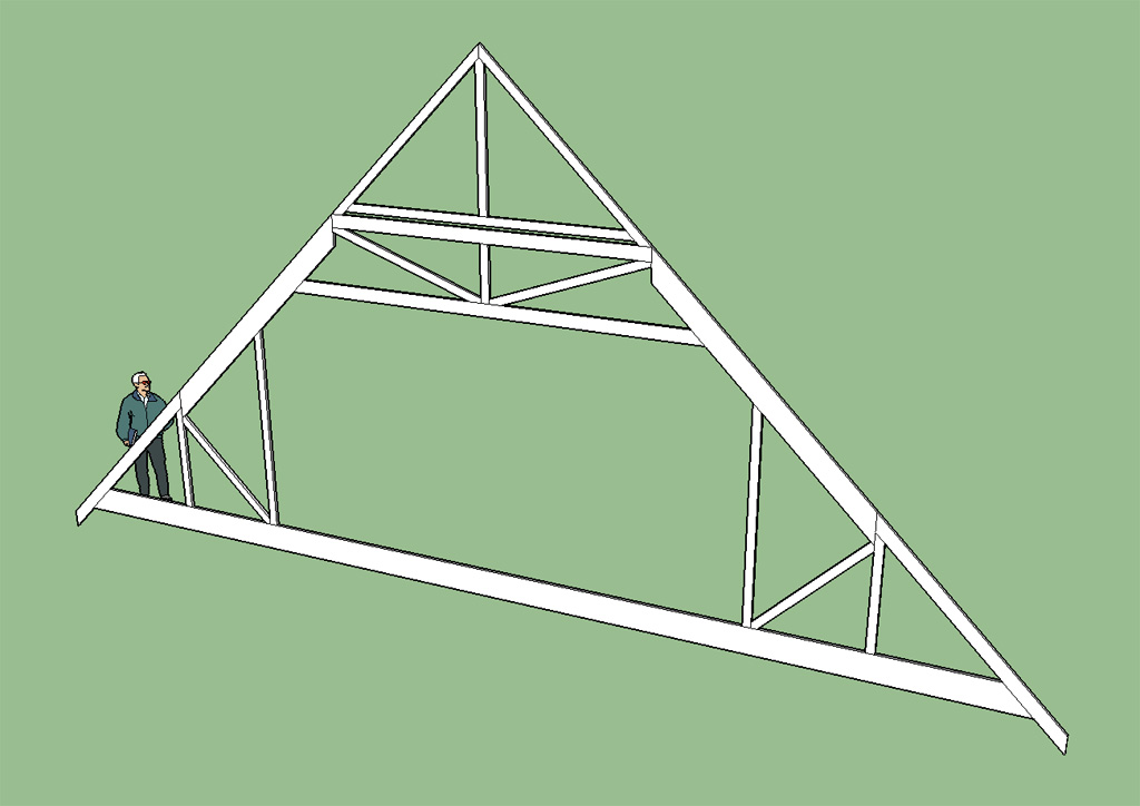 truss calculators With 36 foot trusses