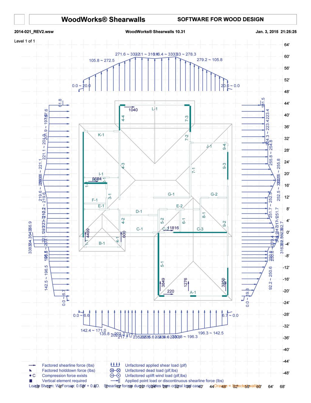 Diaphragm Wall Design Xls : Wood shear wall software or spreadsheets structural