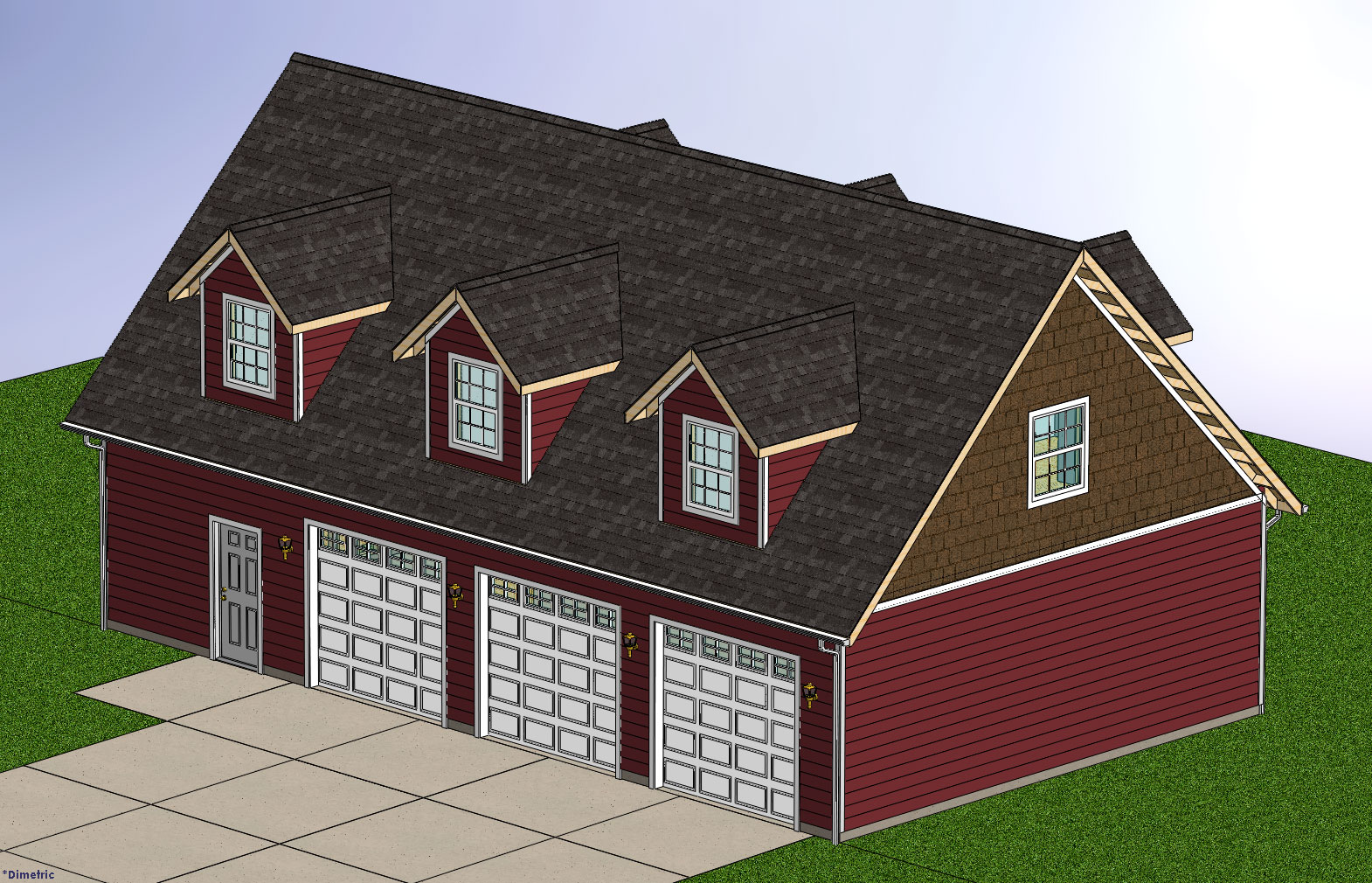The following user says thank you to titanrx8 for this Barn with apartment plans