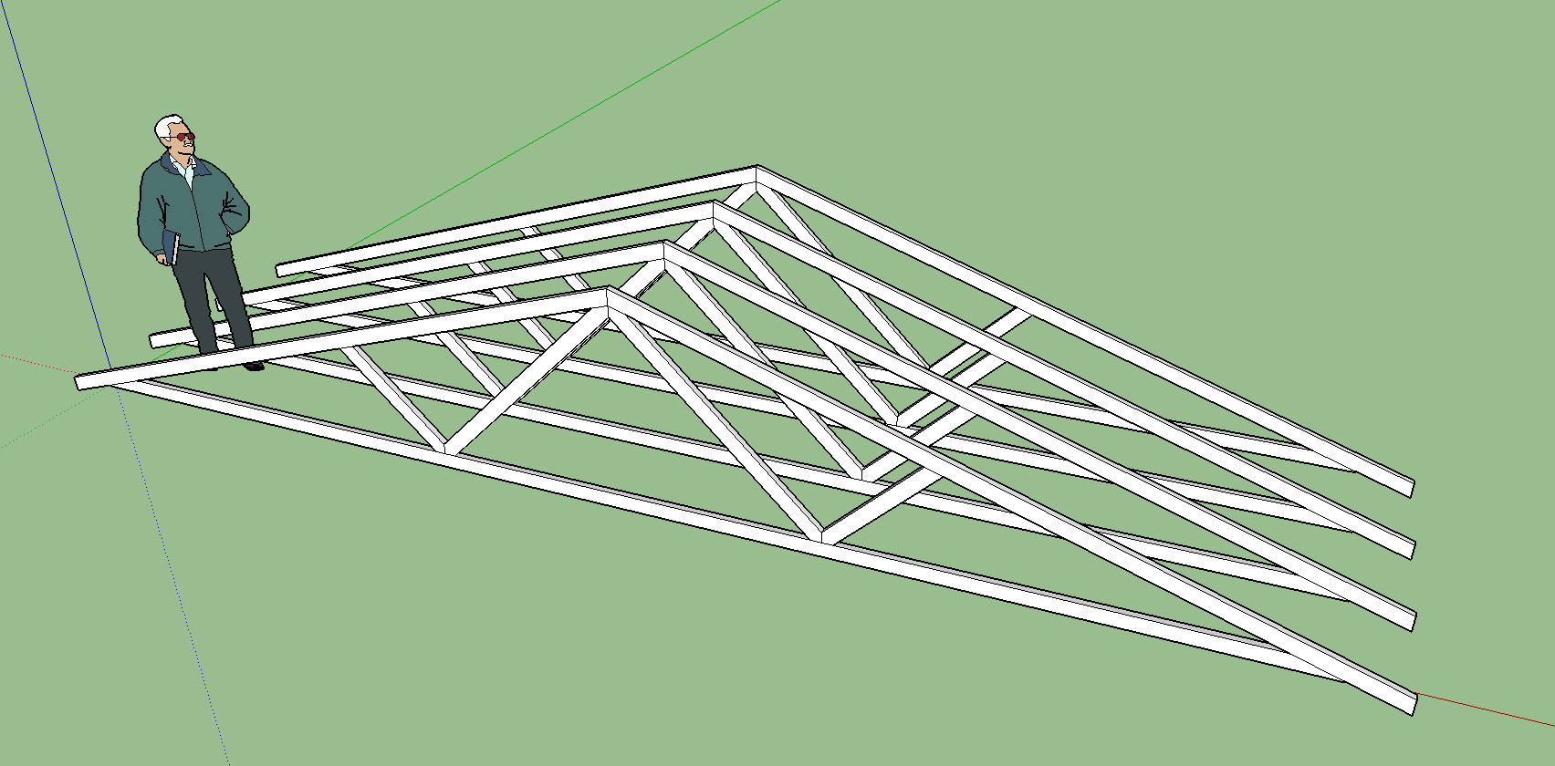 Truss Design And 3d Modeling With Sketchup Fine