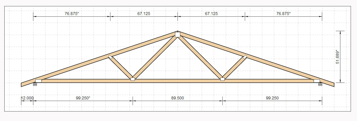 Woodwork 24 Foot Span Roof Truss Plans Pdf Download Free
