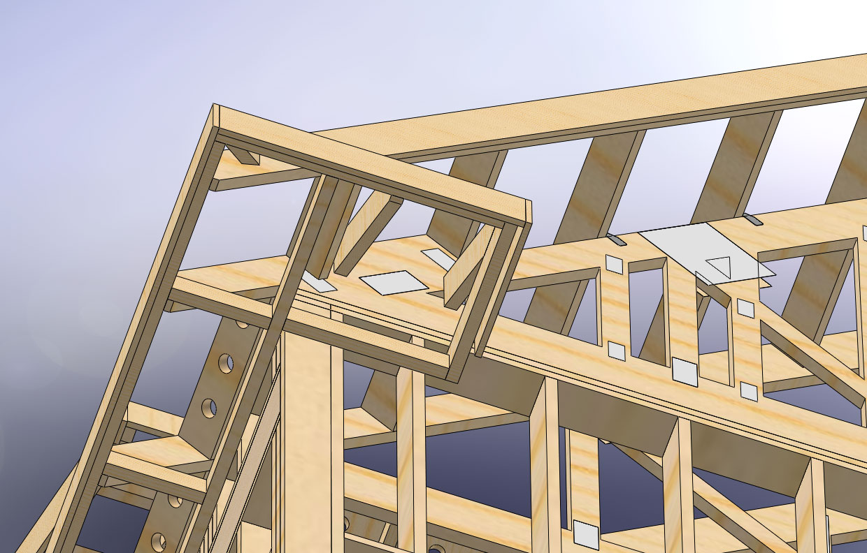 Utilizing Attic Space With Dormers