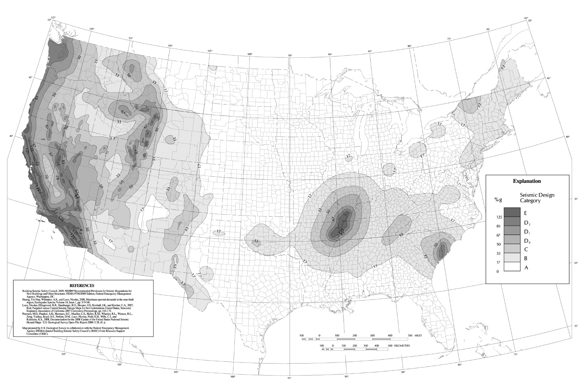 Seismic Design Category Map Karmaboxers - Washington dc earthquake map