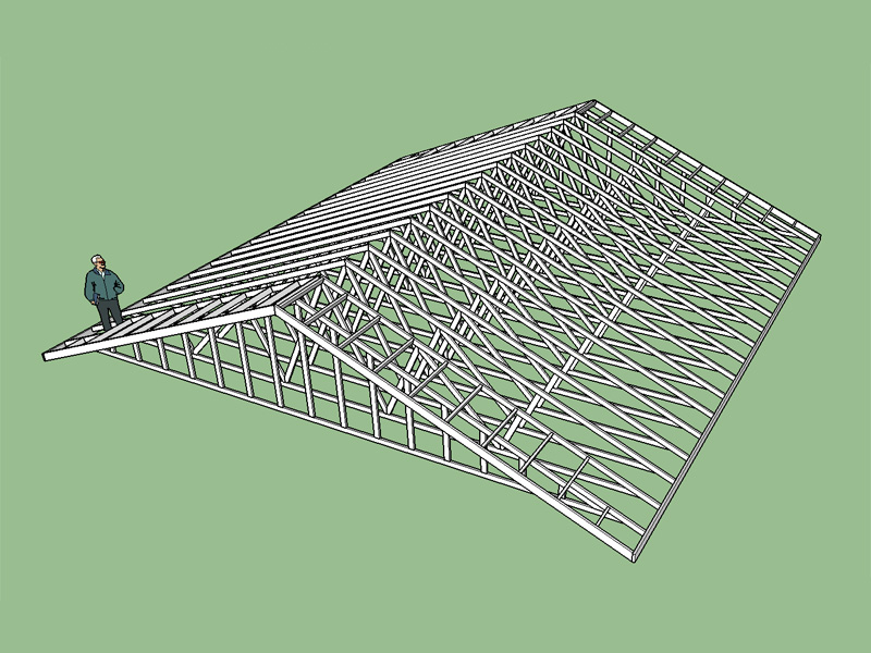 Building Garage With Engineered Trusses Carpentry Page