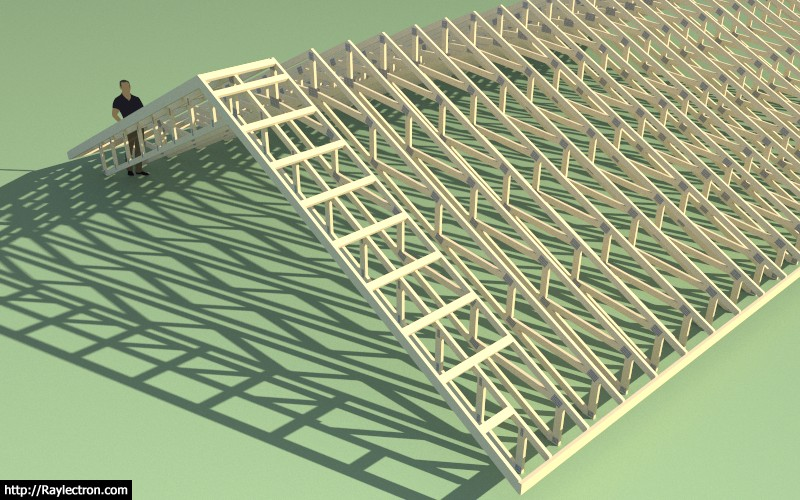 3d Truss Models Sketchucation 33