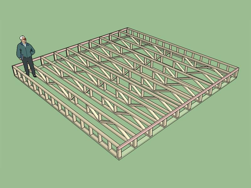 3d Truss Models Sketchucation 8
