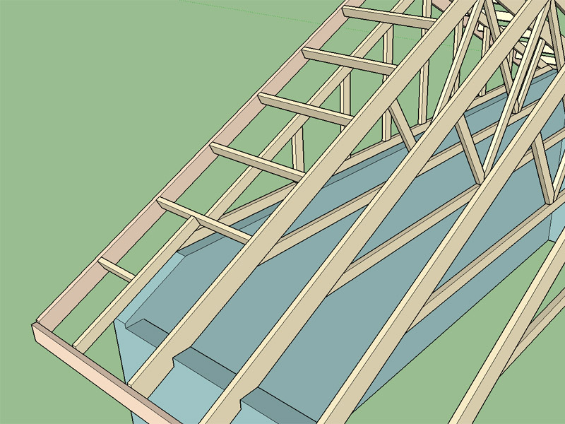 Tail Bearing Trusses Truss Engineering Design