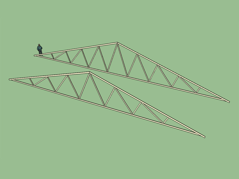 how to build a fink truss
