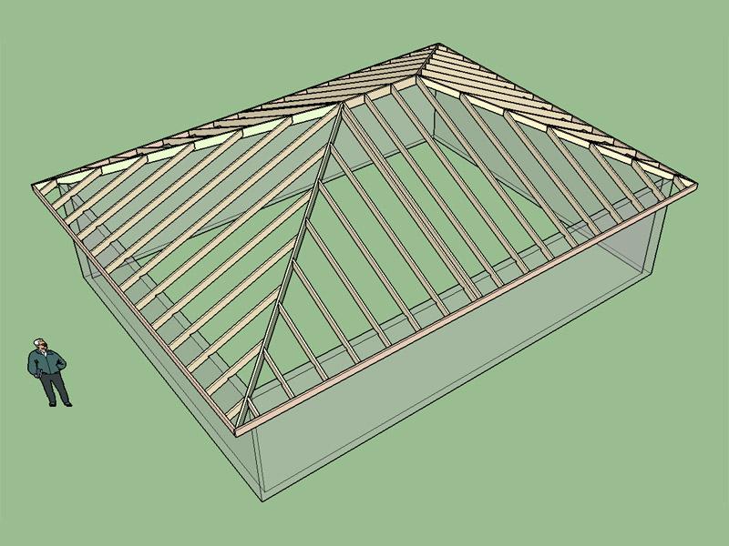3D Truss Models • sketchUcation • 11