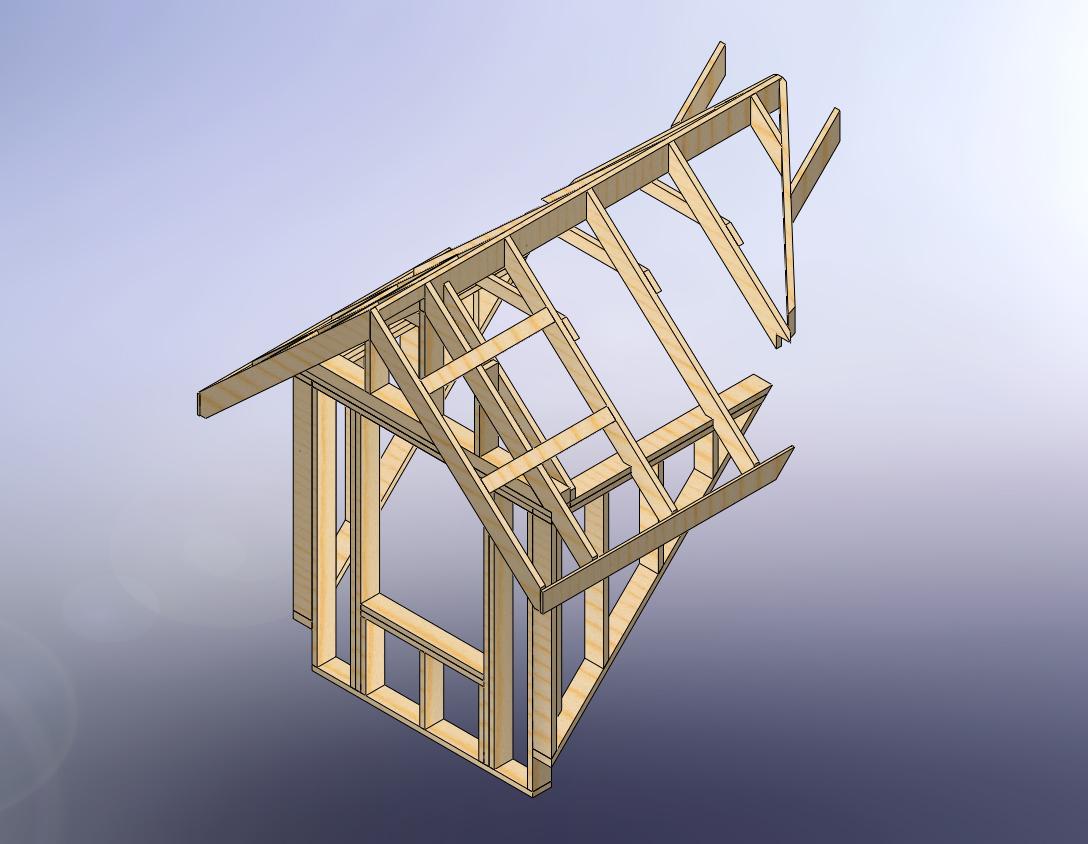 how to build a fake dormer
